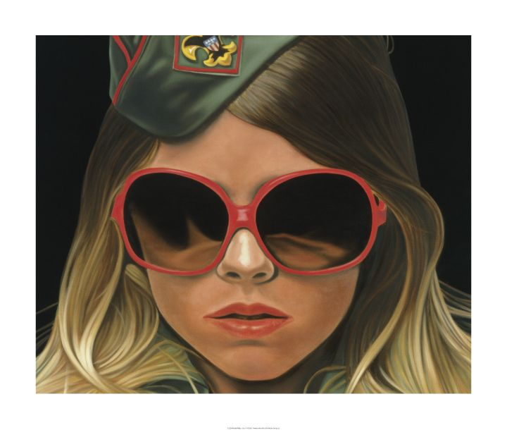 gossip girl art scout by richard phillips art