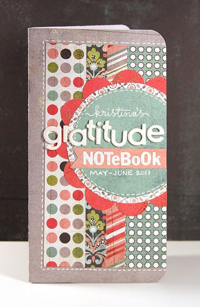gratitude notebook + free printable pages