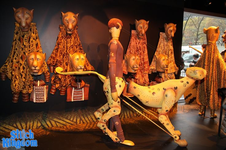 Lion king cheetah puppet - photo#5