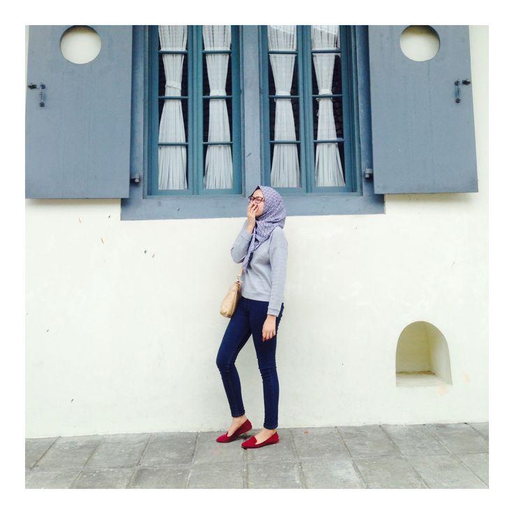 #hijab #hijabfashion #hijabstyle #hijaboutfit #yogyakarta
