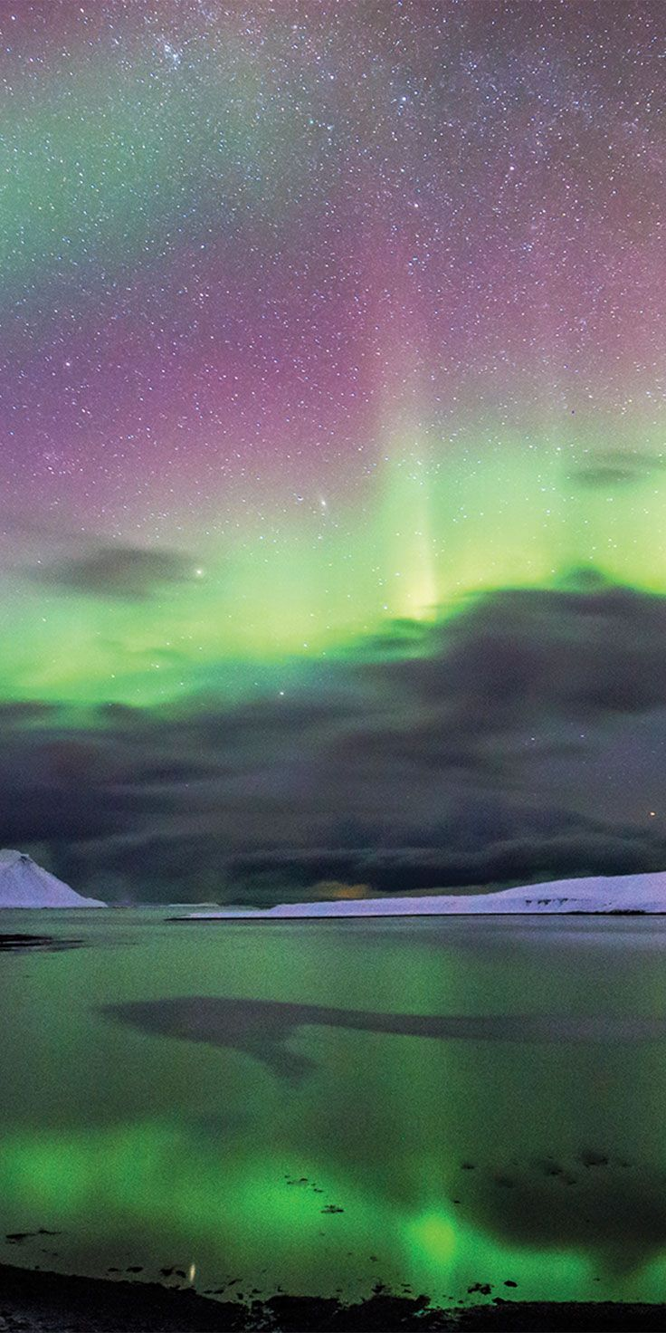 The spectacular Northern Lights in Iceland - by Sean Scott