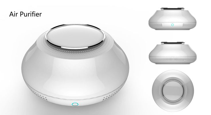 Air Purifier on Behance