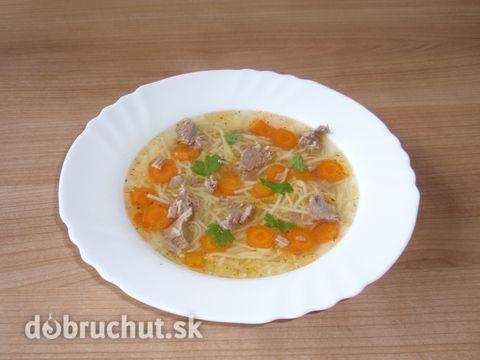 Hovädzia polievka