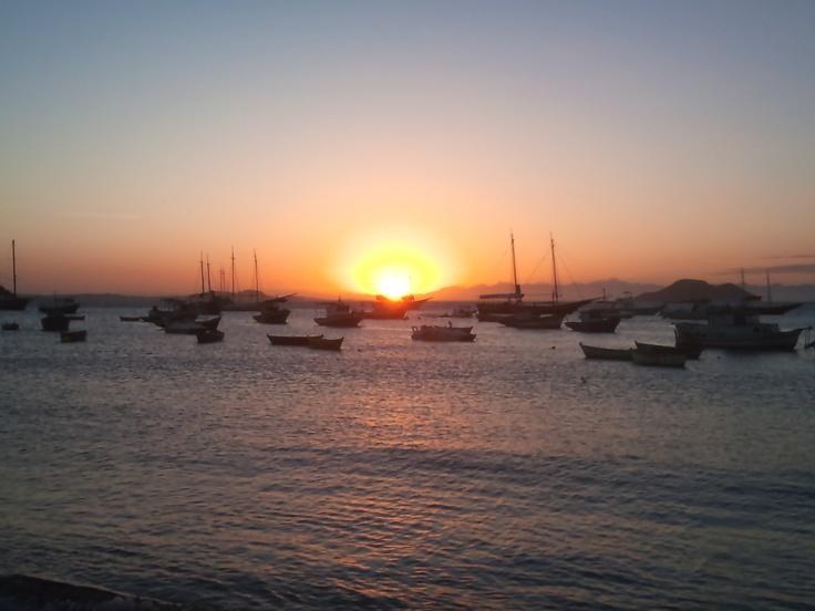 sunset in #Buzios - Brazil