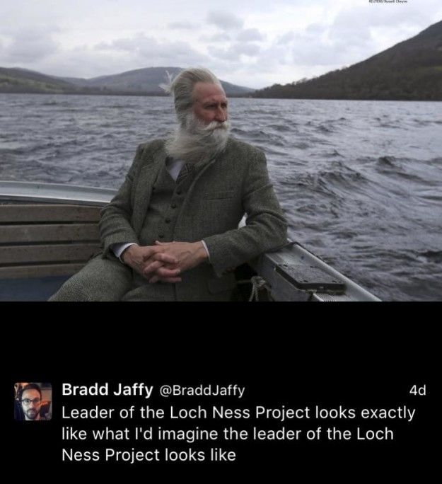This dapper gent, who dresses up to hunt Nessie. | 19 Photos That Prove Old Scottish People Are The Greatest