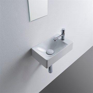 Molli - lille håndvask i flot Italiensk design. Made in Italy