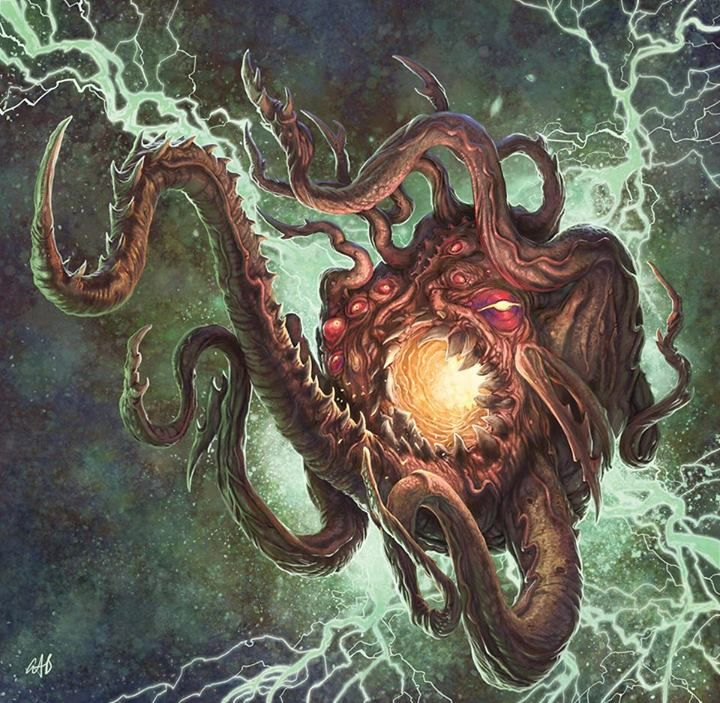 Great Old One Concept For RAFMs New Line Of Call Cthulhu Miniatures