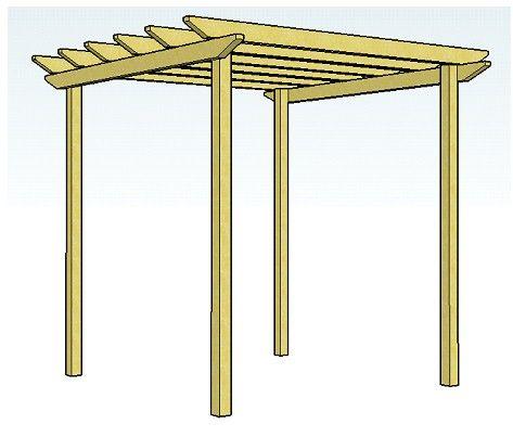 best 25+ pergola design plans ideas on pinterest | corner patio ... - Free Pergola Designs For Patios
