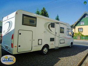 Epic Niese Caravan Angebot B rstner Viseo I G ein wundersch nes integriertes Reisemobil mit einer