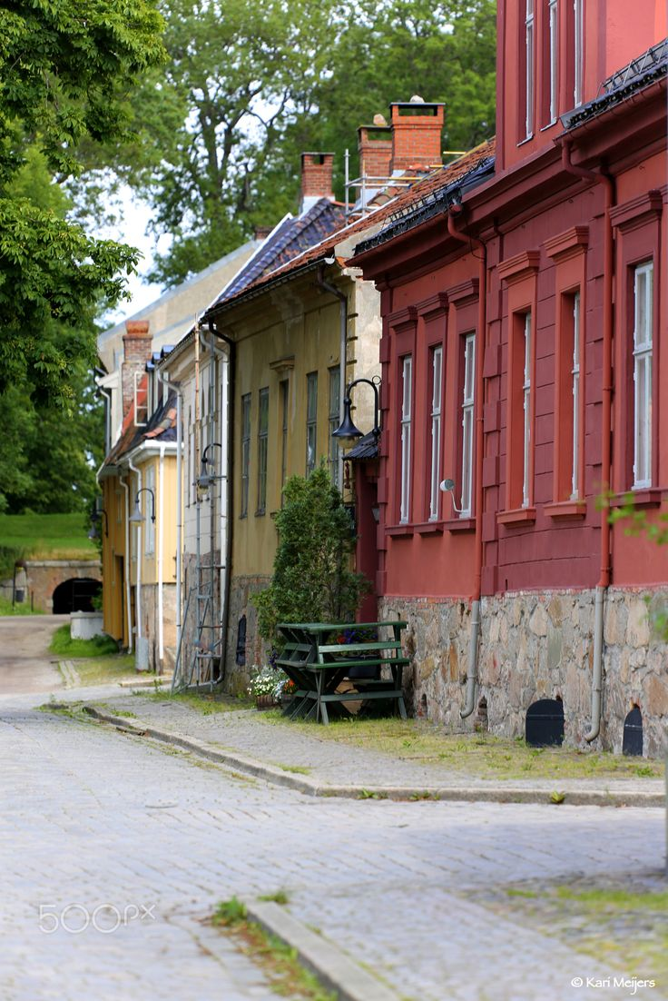 Old Town in Fredrikstad, Norway