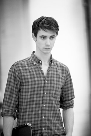 Harry Lloyd. Just found out he's Charles Dickens great great great grandson? Whaaaat!? Well this is exciting.
