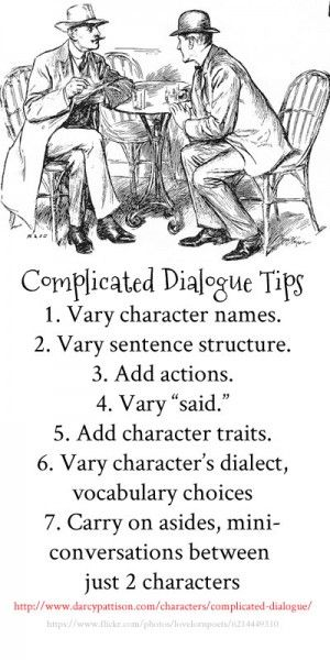 Complicated Dialogue: Keeping 5 Characters in Line