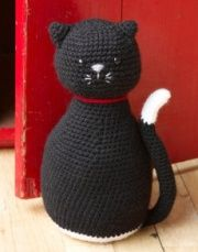 Free Amigurumi Patterns: animals~ This could be weighted in the bottom to make a door stop.