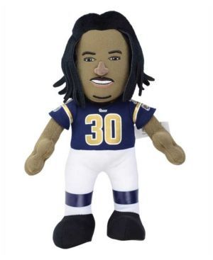 Bleacher Creatures Todd Gurley Los Angeles Rams 10inch Player Plush Doll - Blue https://www.fanprint.com/licenses/los-angeles-rams?ref=5750