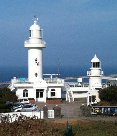 Lighthouses of Korea: Jeju (Cheju), Sanji Lights