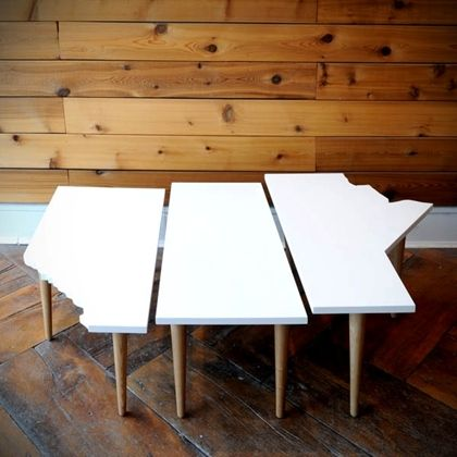 all white on the western front: Modern Furniture, Nesting Tables, Prairie Tables, Tables Sets, Gus Modern, Memorial Tables, Accent Tables, Modern Prairie, Nests Tables
