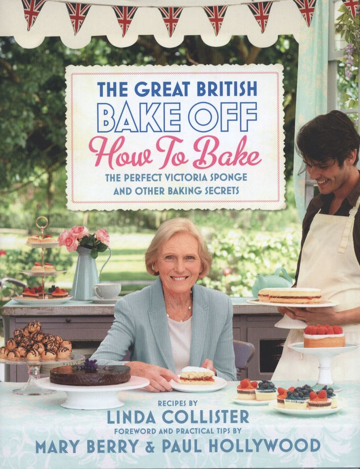 The Great British Bake Off - How to Bake! Love Mary Berrys Baking !
