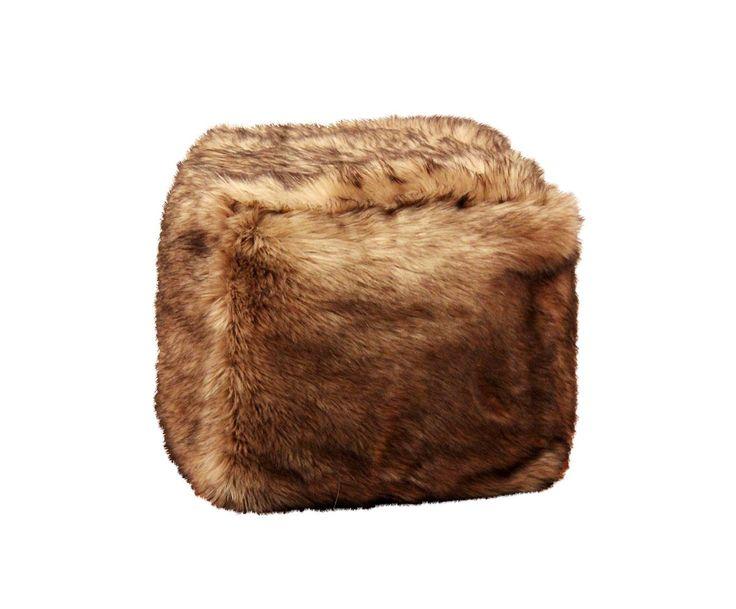 #pouf #fur