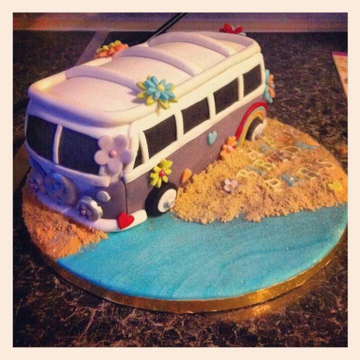Vw campervan cake #kombilove #kombiweddings