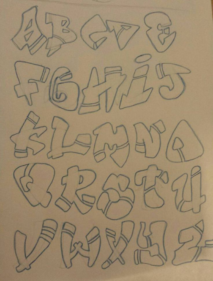 Graffiti Alphabet by ooWHIToo.deviantart.com on @DeviantArt