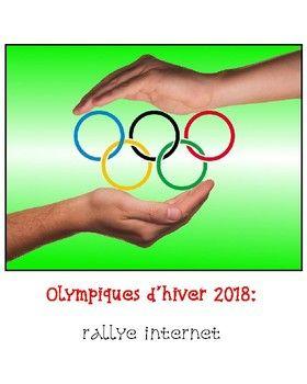 Voici un rallye internet de 20 questions qui permettra à vos élèves d'en apprendre davantage sur les jeux olympiques de 2018. Le lien pour le document de l'élève créé avec Google Présentations (Slides) est inclus dans le document de l'enseignant. Vous n'avez qu'à partager