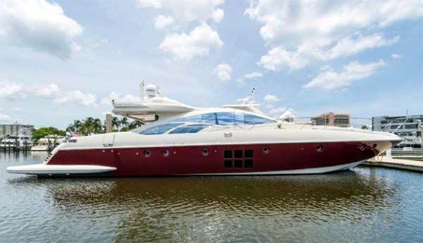 "86 Azimut Motor Yacht ""Gorgeous Gal""."