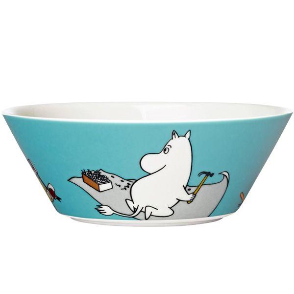 Moomintroll Moomin bowl.