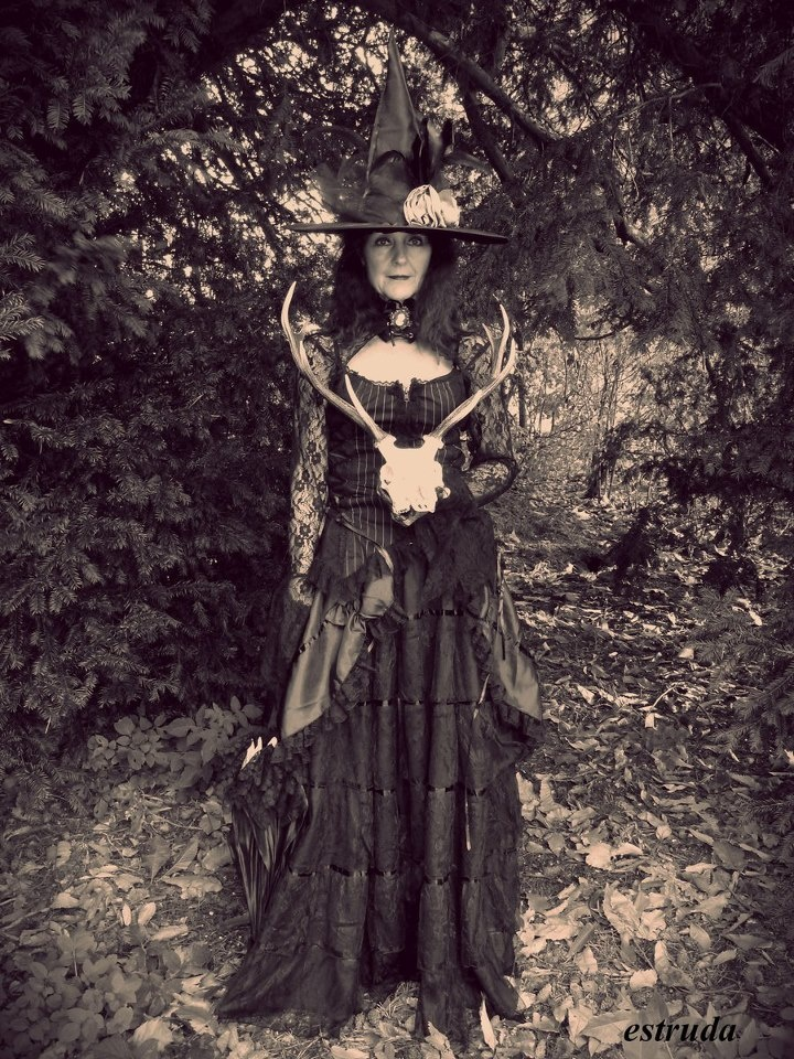 the witch prepares for halloween by estruda - Halloween Witchcraft