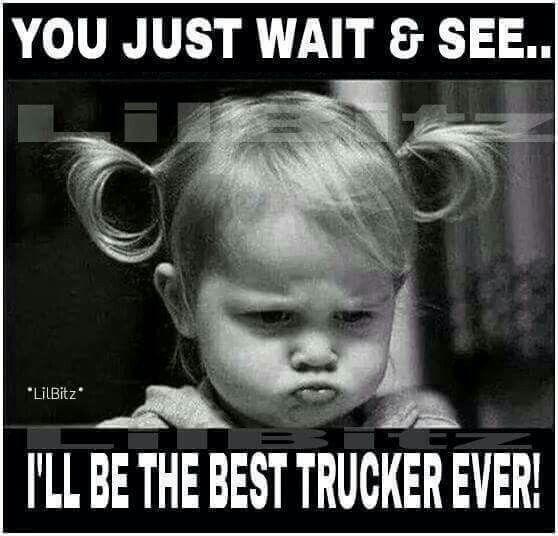 Funny I Ll Be Waiting Meme : Best truckers meme images on pinterest memes