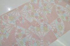 UN-USED MIXED KIMONO BOLT:Lovely Floral Folding Fan/Chrysanthemum@q15