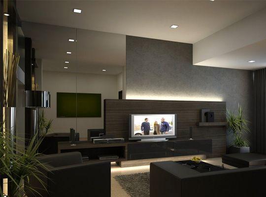 Moderny dizajn obývacia izba