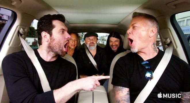 Billy Eichner Questions The Members Of Metallica On Their Dick Pic Decorum