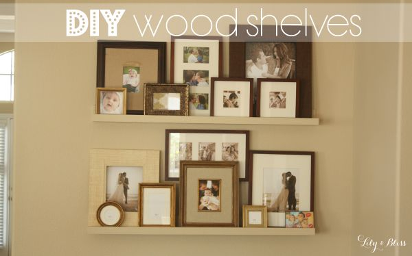 diy cheap wood shelf dirt cheap easy to make and so easy to hang