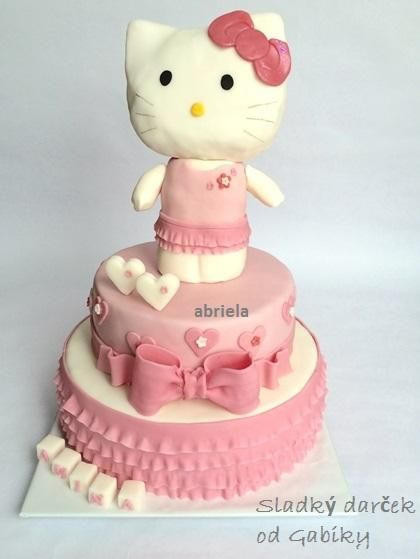 Cake with Kitty