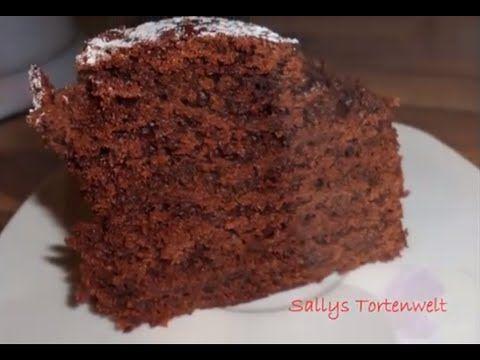 Sallys zarter Schokokuchen / bester Schokoladenkuchen - 31.01.13 - YouTube