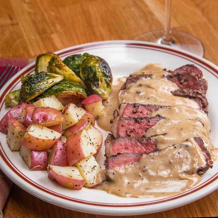French Pepper Steak (Steak au Poivre)