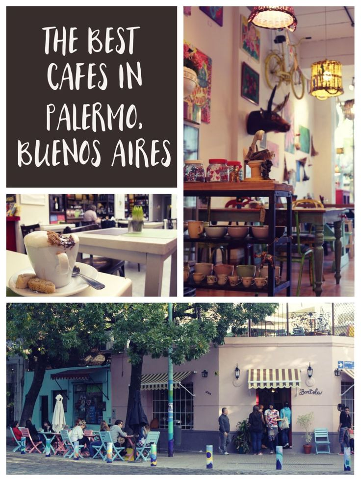 A short guide to the top ten best cafes in Palermo in Buenos Aires. The perfect stops for tea and cake.