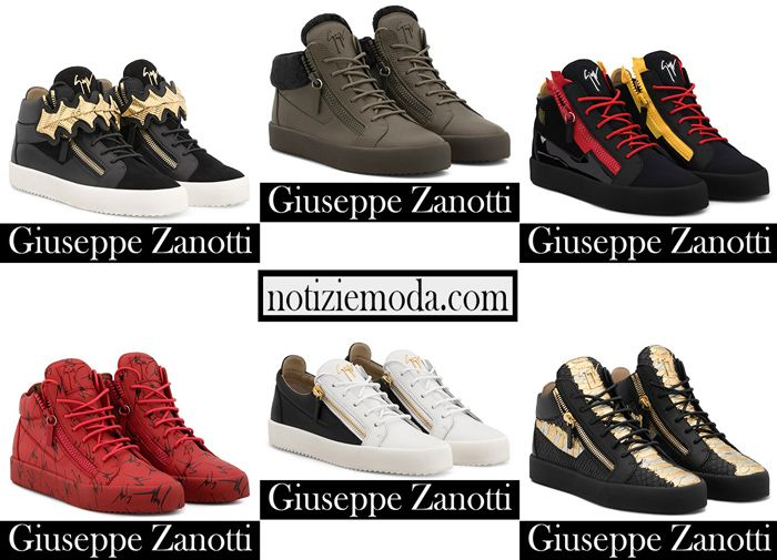 Sneakers Zanotti 2018 2019 nuovi arrivi calzature uomo