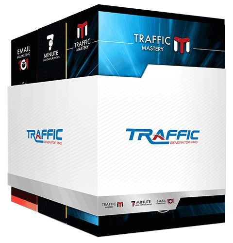 "Traffic Generator Pro (TGP): The 3-Step Traffic ""System"" that teaches you how to get massive amounts of traffic and turn it into immediate and recurring cash."