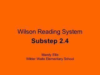 Wilson 2 4