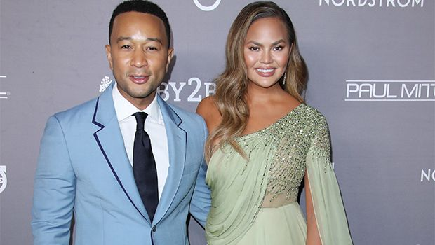 Chrissy Teigen Has A Twitter Meltdown After John Invites The Voice Coaches To Dinner On Finale Night Red Carpet Looks Satin Cocktail Dress Gala Fashion