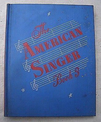 The American Singer #3,hardcover,Beattie/Wolverton/Wilson/Hinga,1950,songbook