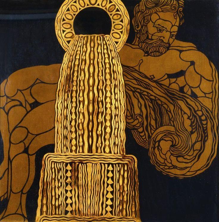Guido Marussig (Italian, 1885-1972), Aquarius, c,1920.