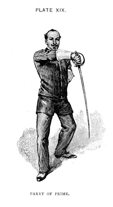 Hutton - Parry Prime for Saber, Historical European Martial Arts, HEMA