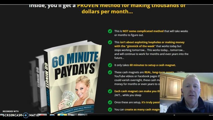 60 Minute Paydays Review - Get $244 Per Day is Easy