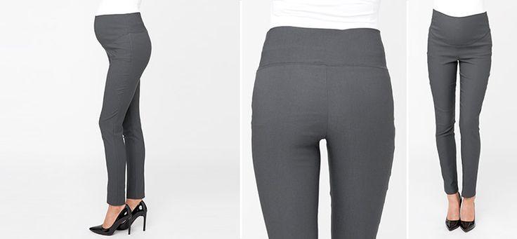 Suzie Straight Leg Hose grau aus der Kategorie Business Looks von Mamarella - Details