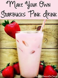 Starbucks Pink Drink recipe! This beverage has been all over Facebook, Instagram, and all forms of social media. What is it? The new Pink Drink from the Starbucks secret menu. Its a creamy blend of tea and coconut milk, topped...