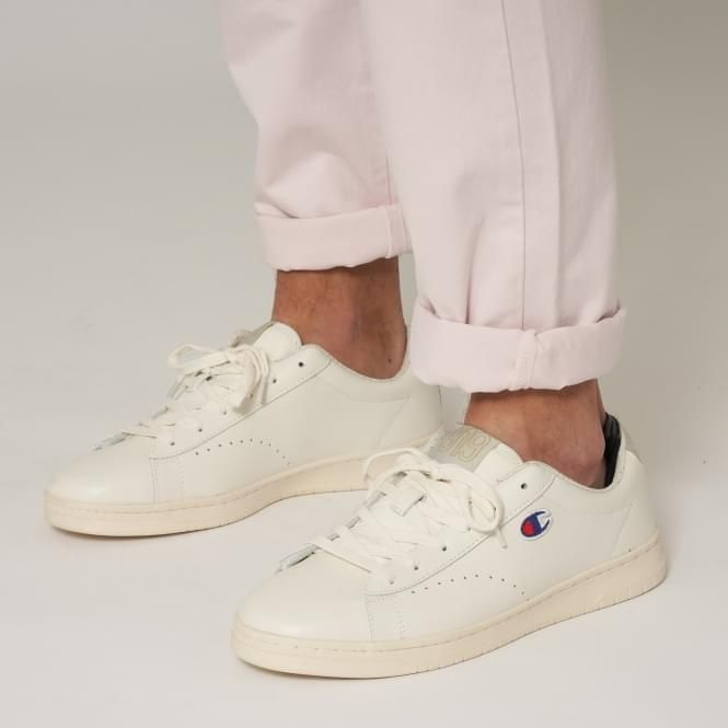 a798f6a93a9cf CHAMPION 919 Low Top  C  Patch Trainers - White