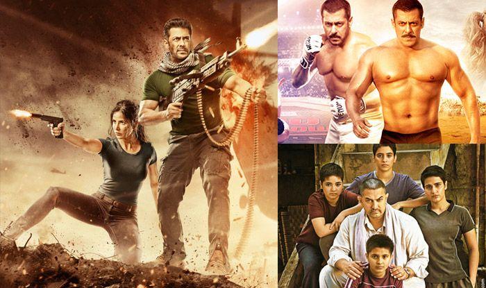 Tiger Zinda Hai Vs Dangal Vs Sultan Box Office Collection Comparison.