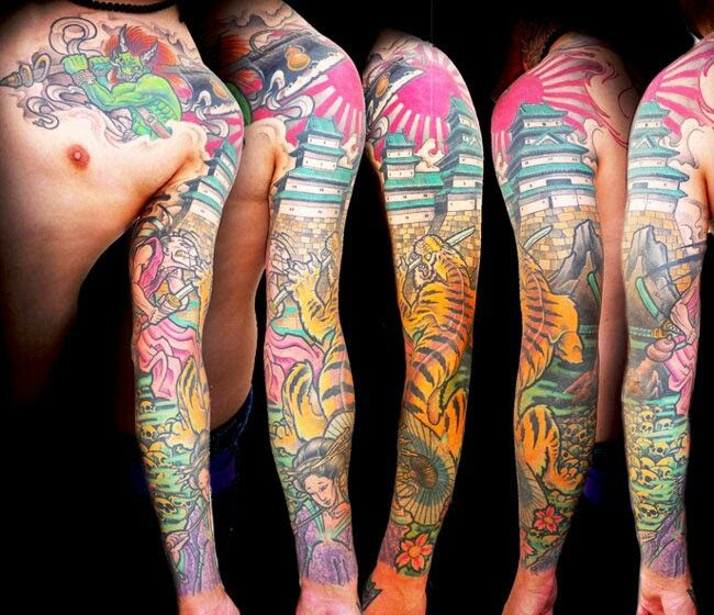 17 best ideas about rising sun tattoos on pinterest for Neo japanese tattoo